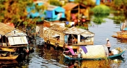 Floating Village on the Tonle Sap Lake